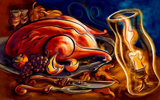 thanksgiving-dinner-holiday-feast-turkey-wallpapers-easter-wallpaper